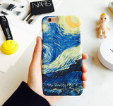 Fashion printing  starry sky plastic Case Cover for Apple iPhone 7 7Plus 6 Plus 6 -05012