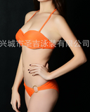 2017 New Sexy Fashion Bandeau two-piece swimsuit Women swimwear-0420