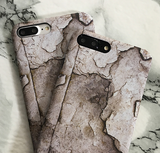 Retro marble PC Case Cover for Apple iPhone 5s 5 6 Plus 6 -05011