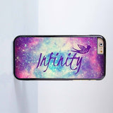 Infinity Plastic Case Cover for Apple iPhone 6 6 Plus 4 4s 5 5s 5c