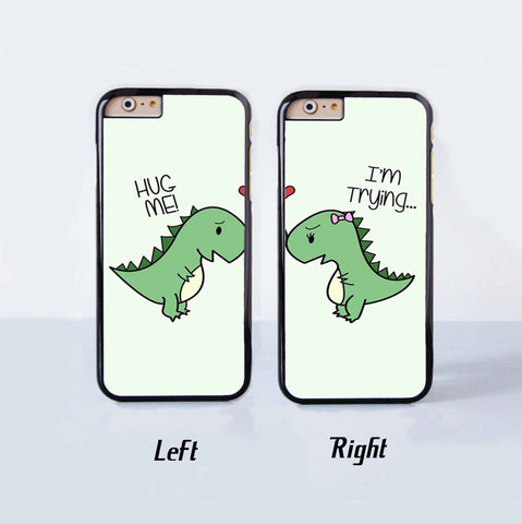 Cute Dragon Love Couple Case for Apple iPhone 6 Plus 4 4s 5 5s 5c 6
