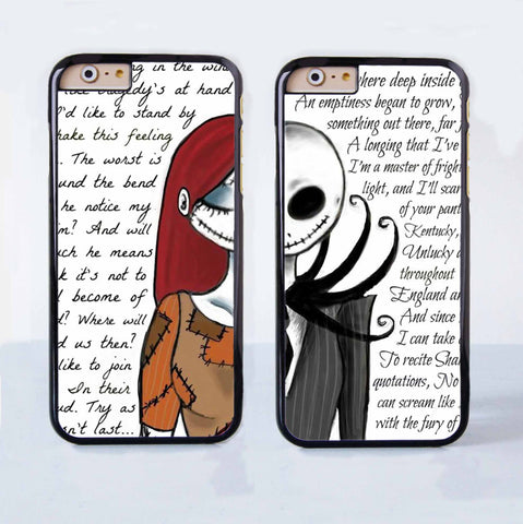 the nightmare before christmas together forever love couple case for apple iphone 6 plus 4 4s