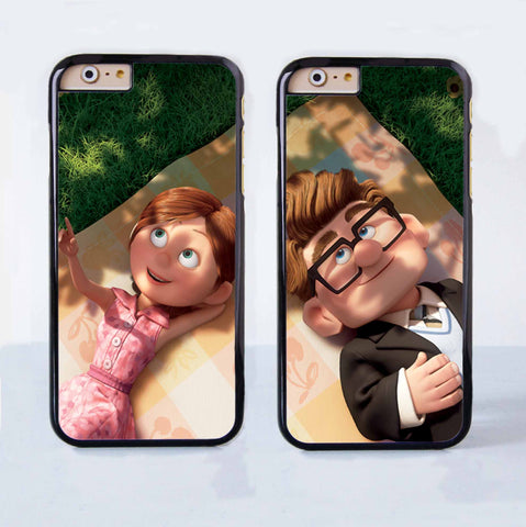 Carl And Ellie From Up Couple Case for Apple iPhone 6 Plus 4 4s 5 5s 5c 6