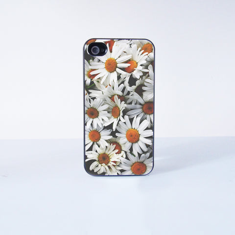 Cute chrysanthemum Plastic Phone Case For iPhone 4/4S More Case Style Can Be Selected