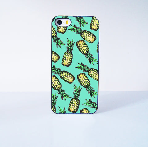Pineapple Plastic Phone Case For iPhone iPhone 5/5S More Case Style Can Be Selected
