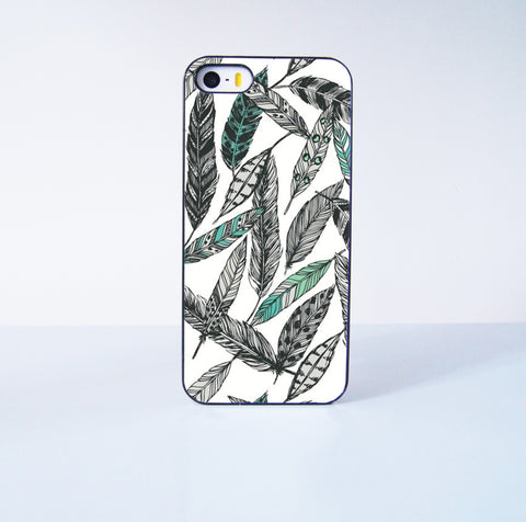 Tattoo Feather Plastic Phone Case For iPhone iPhone 5/5S More Case Style Can Be Selected