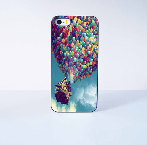 Flying Ballon Up  Plastic Case Cover for Apple iPhone 5 5s 6 Plus 6 4 4s  5c