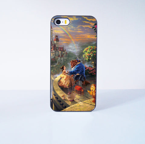 Beauty and Beast  Plastic Case Cover for Apple iPhone 5s 5 4 4s 5c 6 6s Plus