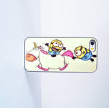 2015 Fashion Minions Ride Unicorn Plastic Case Cover for Apple iPhone 5s 5 6 Plus 6 4 4s  5c