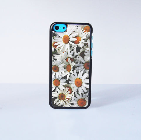 Cute  chrysanthemum Plastic Phone Case For iPhone 5C More Case Style Can Be Selected