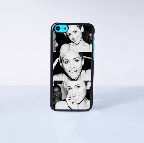 Miley Cyrus Plastic Case Cover for Apple iPhone 5C 6 Plus 6 5S 5 4 4s