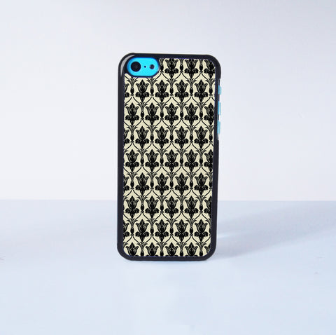 221B Wall Paper Plastic Case Cover for Apple iPhone 5C 6 Plus 6 5S 5 4 4s