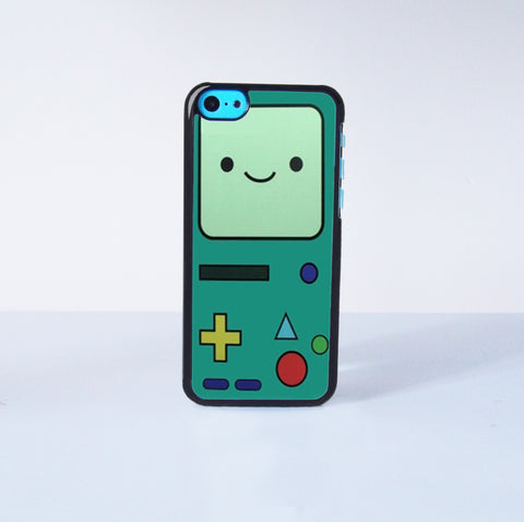 Adventure Time bee-mo Plastic Case Cover for Apple iPhone 5C 6 Plus 6 5S 5 4 4s
