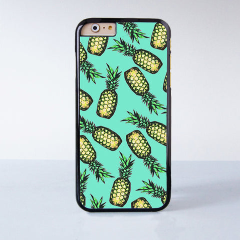 "Pineapple plastic phone case for iPhone 6 (4.7"")  More case style can be selected"