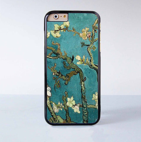 "Flower Painting  plastic phone case for iPhone 6 (4.7"")  More case style can be selected"