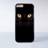 "Black cat plastic phone case for iPhone 6 (4.7"")  More case style can be selected"