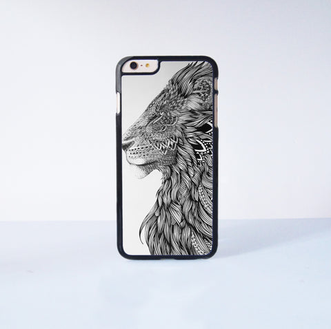 "Lion Plastic Phone Case For iPhone iPhone 6 Plus (5.5"") More Case Style Can Be Selected"