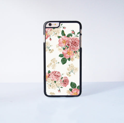 "Flower Painting Plastic Phone Case For iPhone iPhone 6 Plus (5.5"") More Case Style Can Be Selected"