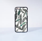 "Tattoo Feather  Plastic Phone Case For iPhone iPhone 6 Plus (5.5"") More Case Style Can Be Selected"