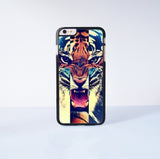 "Tiger  Plastic Phone Case For iPhone iPhone 6 Plus (5.5"") More Case Style Can Be Selected"