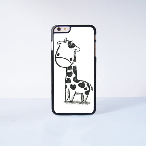 "Cute Giraffe Plastic Phone Case For iPhone iPhone 6 Plus (5.5"") More Case Style Can Be Selected"