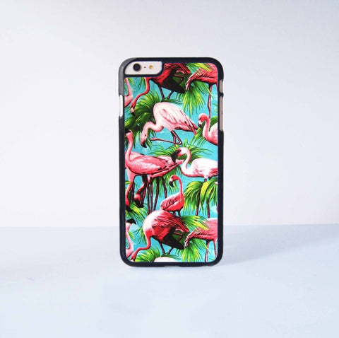"Pink  Flamingo Plastic Phone Case For iPhone iPhone 6 Plus (5.5"") More Case Style Can Be Selected"