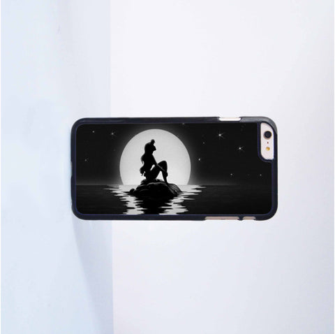Little Mermaid  Plastic Case Cover for Apple iPhone 6 Plus 4 4s 5 5s 5c 6
