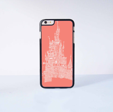Disney Castle Plastic Case Cover for Apple iPhone 6 Plus 4 4s 5 5s 5c 6