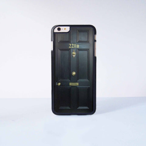 221B Plastic Case Cover for Apple iPhone 6 Plus 4 4s 5 5s 5c 6