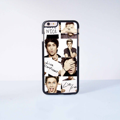 One Direction Plastic Case Cover for Apple iPhone 6 Plus 4 4s 5 5s 5c 6