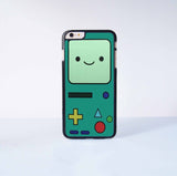 Adventure Time bee-mo Plastic Case Cover for Apple iPhone 6 Plus 4 4s 5 5s 5c 6