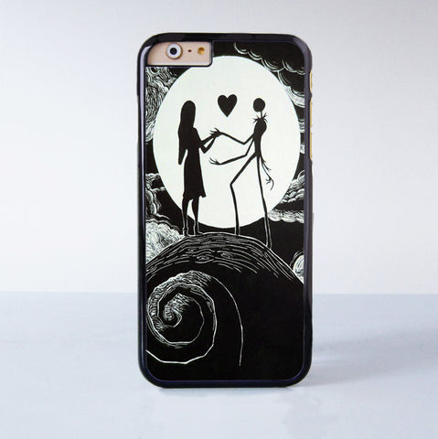 Love The Nightmare Before Christmas Plastic Case Cover for Apple iPhone 6 6 Plus 4 4s 5 5s 5c