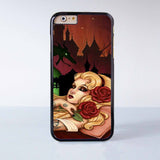 Tattoo Disney Princess Plastic Case Cover for Apple iPhone 6 6 Plus 4 4s 5 5s 5c