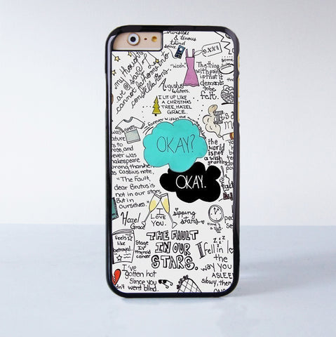 Okay Okay  Plastic Case Cover for Apple iPhone 6 6 Plus 4 4s 5 5s 5c