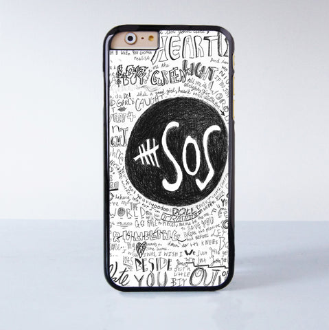 5SOS  Plastic Case Cover for Apple iPhone 6 6 Plus 4 4s 5 5s 5c