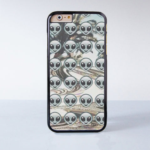 Alien Collection  Plastic Case Cover for Apple iPhone 6S 6S Plus 6 6 Plus 4 4s 5 5s 5c