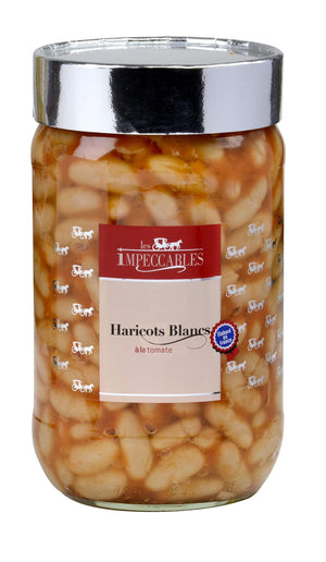 Haricots Blancs - White Beans in tomato sauce