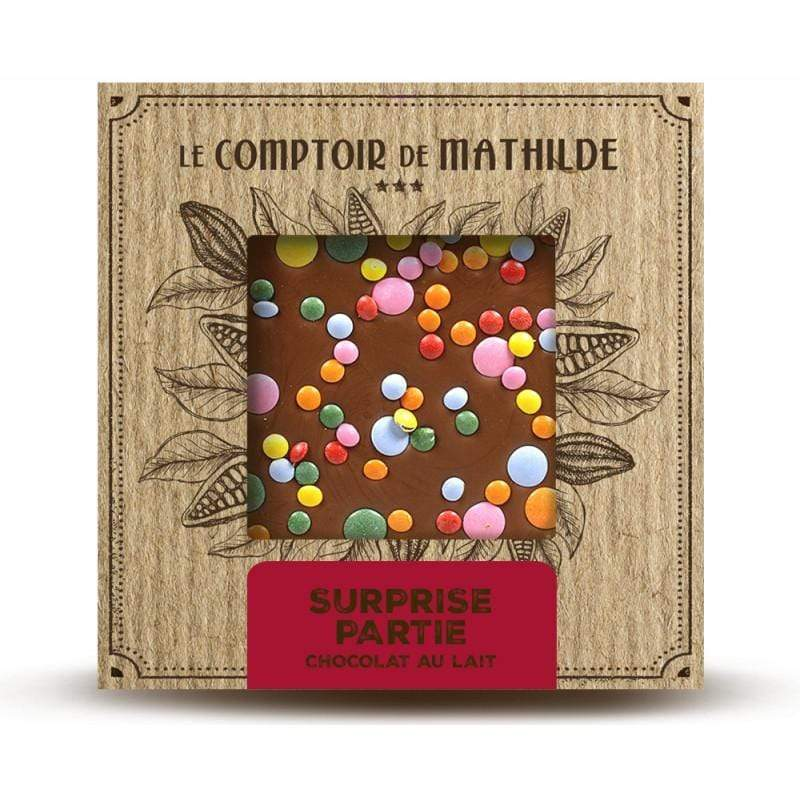 Milk Chocolate Tablet - Surprise Party