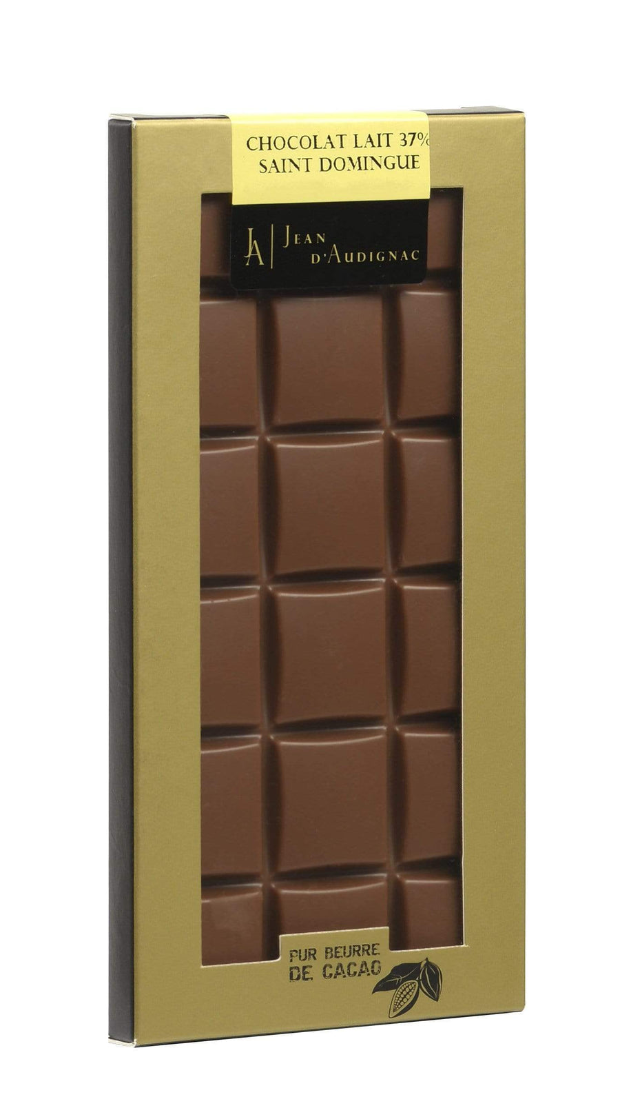 Tablet Organic Milk Chocolate 37% Saint Domingue