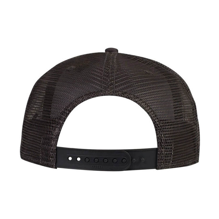 Skull Rider Urban & Rogue - Black Mesh Back Snapback - Skull Rider