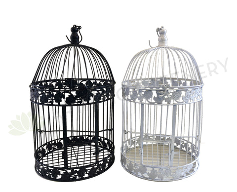 ACC0029 Decorative Bird Cage 2 Colours (Black / White) 3 Sizes