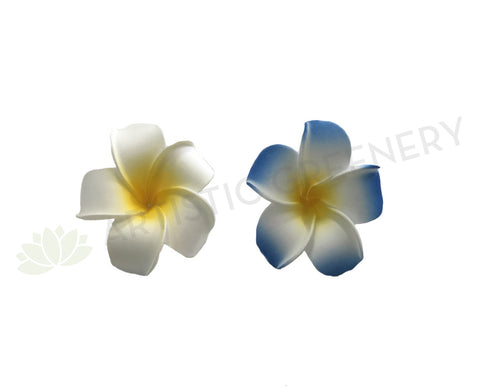 ACC0031N Frangipani Flowers (Floating) Blue / White