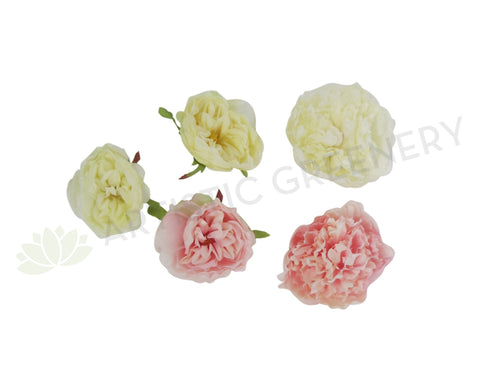 ACC0047 Single Peony Head 9cm (various colours)