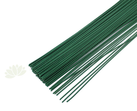 ACC0055T Thick Green Coated Wire 40cm (5 wires)