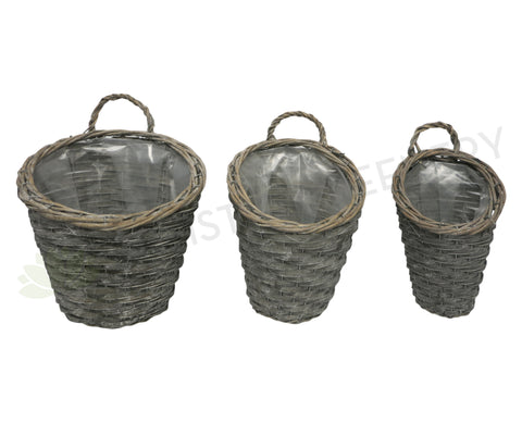 ACC0074 Decorative Rattan Basket 3 Sizes