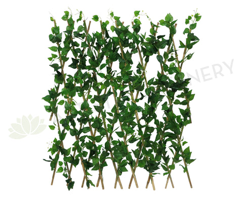 acc0075 expandable greenery bamboo trellis fence 300x100cm