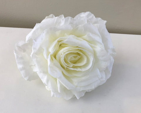 ACC0078 Rose flower head: 14cm diamter - $4 each