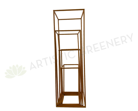 ACC0087 Gold Stand Rectangle 4 sizes