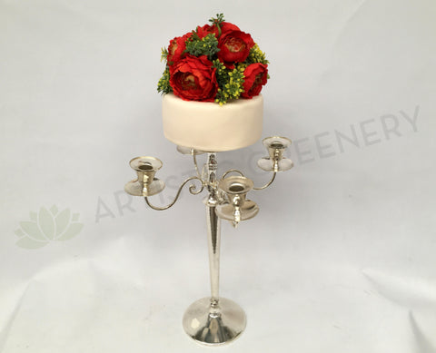 Cake Flower / Topper on Candelabra