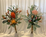 Natural Style Bouquet & Cake Decorations - Native Flowers - Colin E | ARTISTIC GREENERY